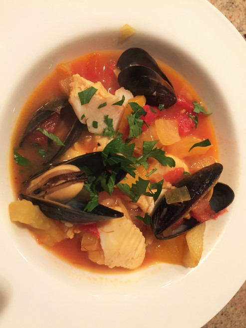 food good golf and great friends and ina garten - Fish Stew Ina Garten