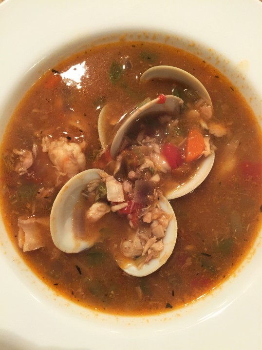 Bermuda fish chowder