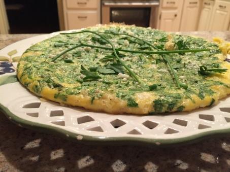 greens-frittata