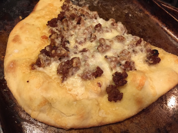 sausage pizza