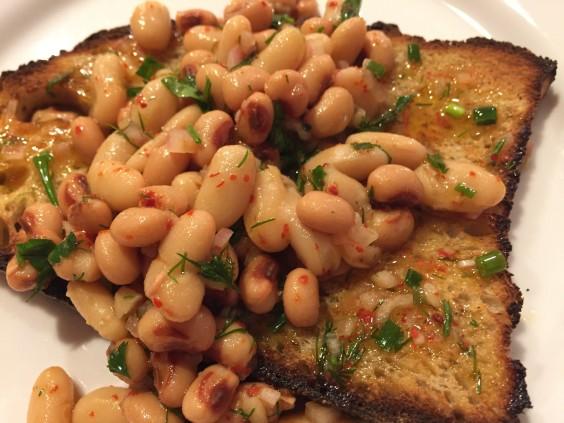 Marinated mixed beans