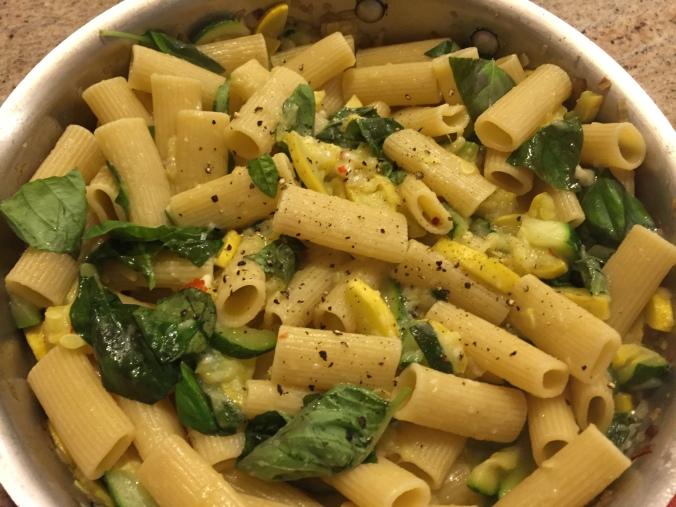 squash pasta