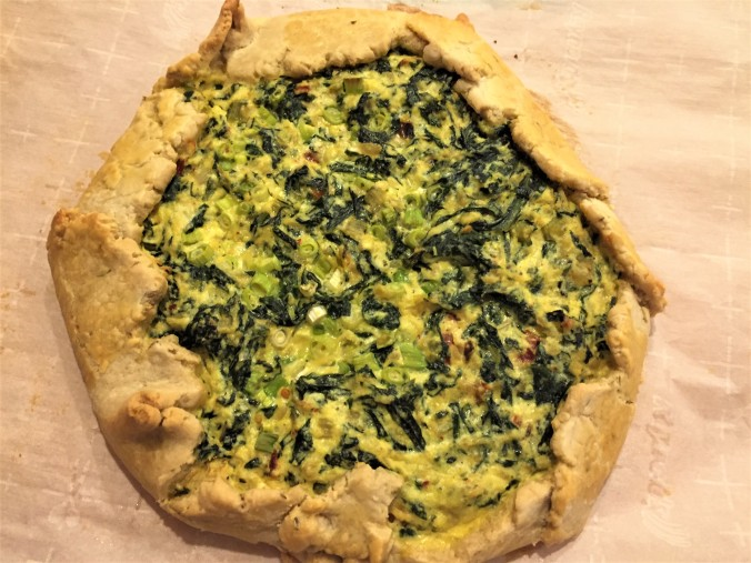 Fennel crust crostata