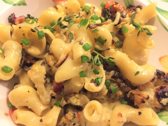 Pasta with Roasted Cauliflower