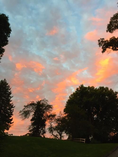 Morning Sky in the Hood