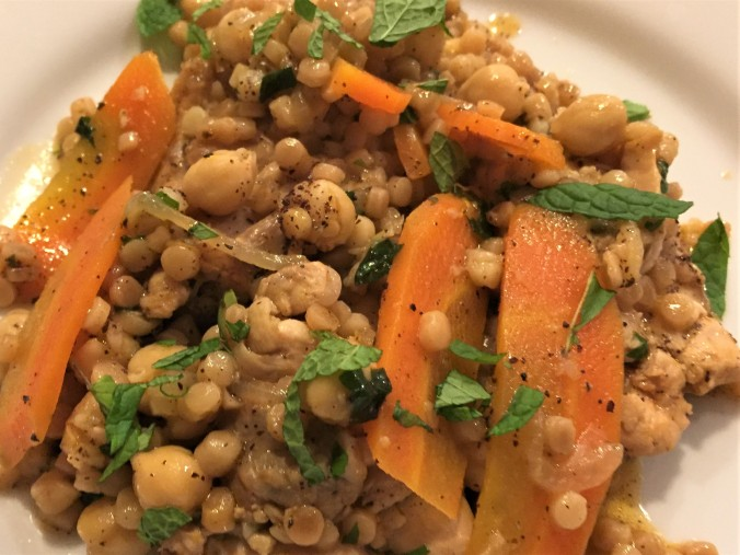 Coucous with Chicken and Spiced Chickpeas