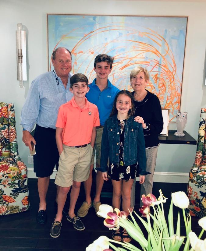 Mere, Hoddy and grandchildren