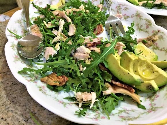 Rotisserie Chicken with Greens