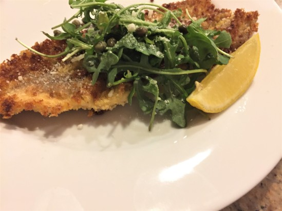 Trout Milanese