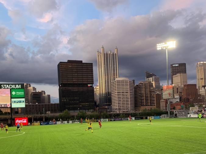 Riverhounds v Loudon United, Highmark Stadium