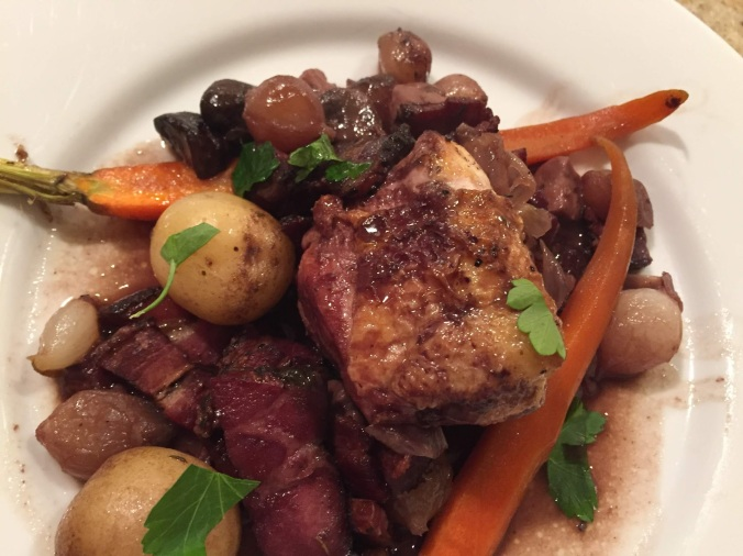 coq au vin today
