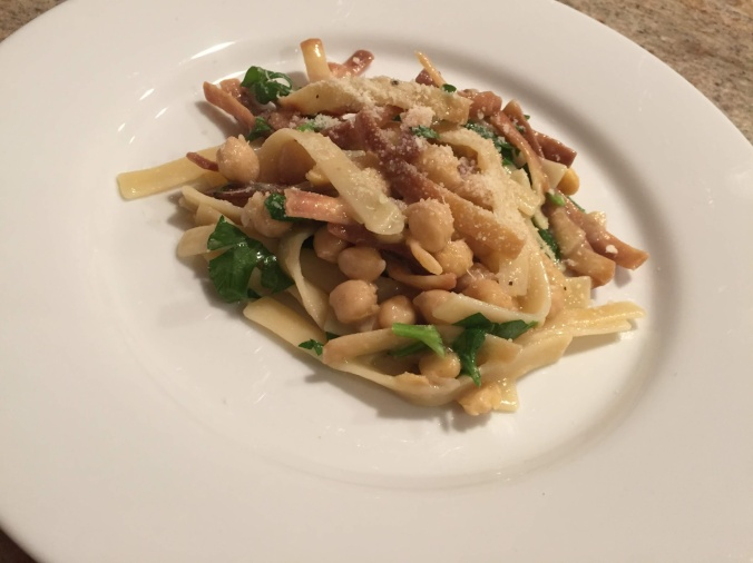 Crispy pasta