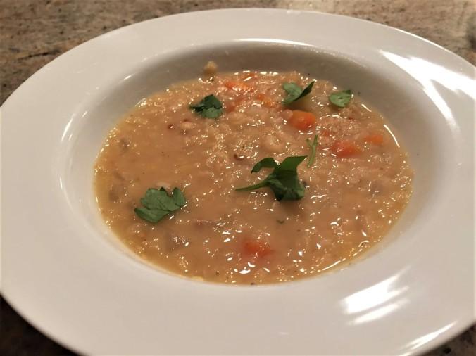 lentil soup again (2)