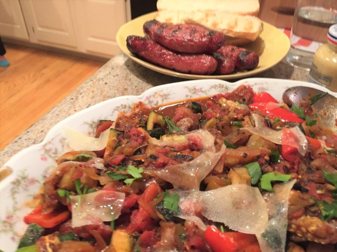 Brats and ratatouille (2)