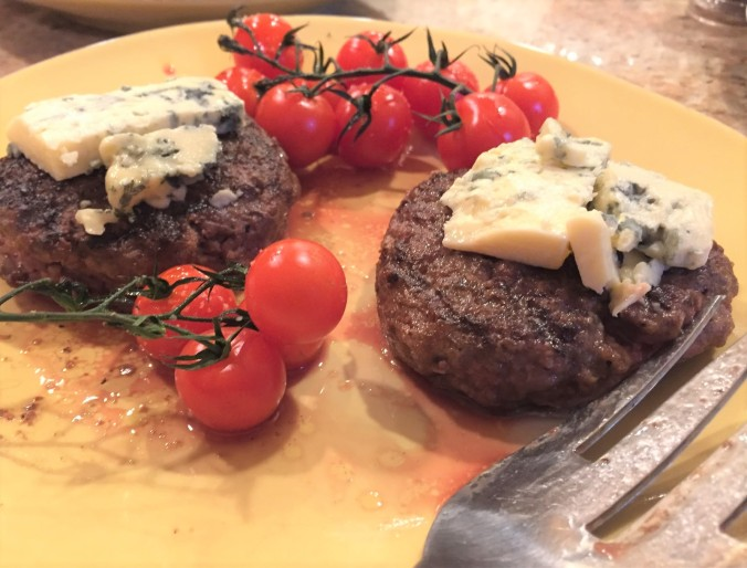 blue cheese burgers (2)