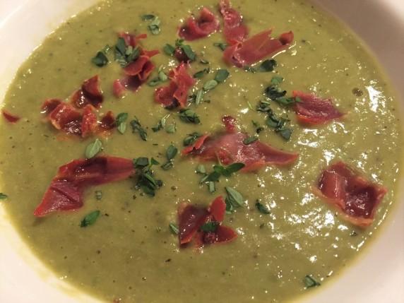 Frozen Pea Soup (2)